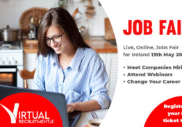 Jobs in Ireland – Online Event, 13th May, 2021