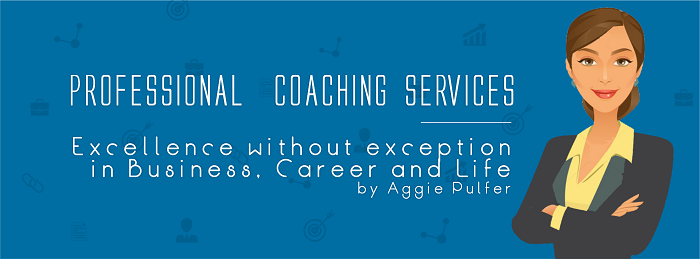 Your Coach, Aggie Pulfer, will be offering guidance for jobseekers at Virtual Recruitment Expo next month