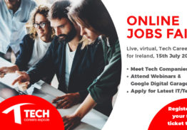 Tech Careers Expo – Online Event, 15th July, 2021