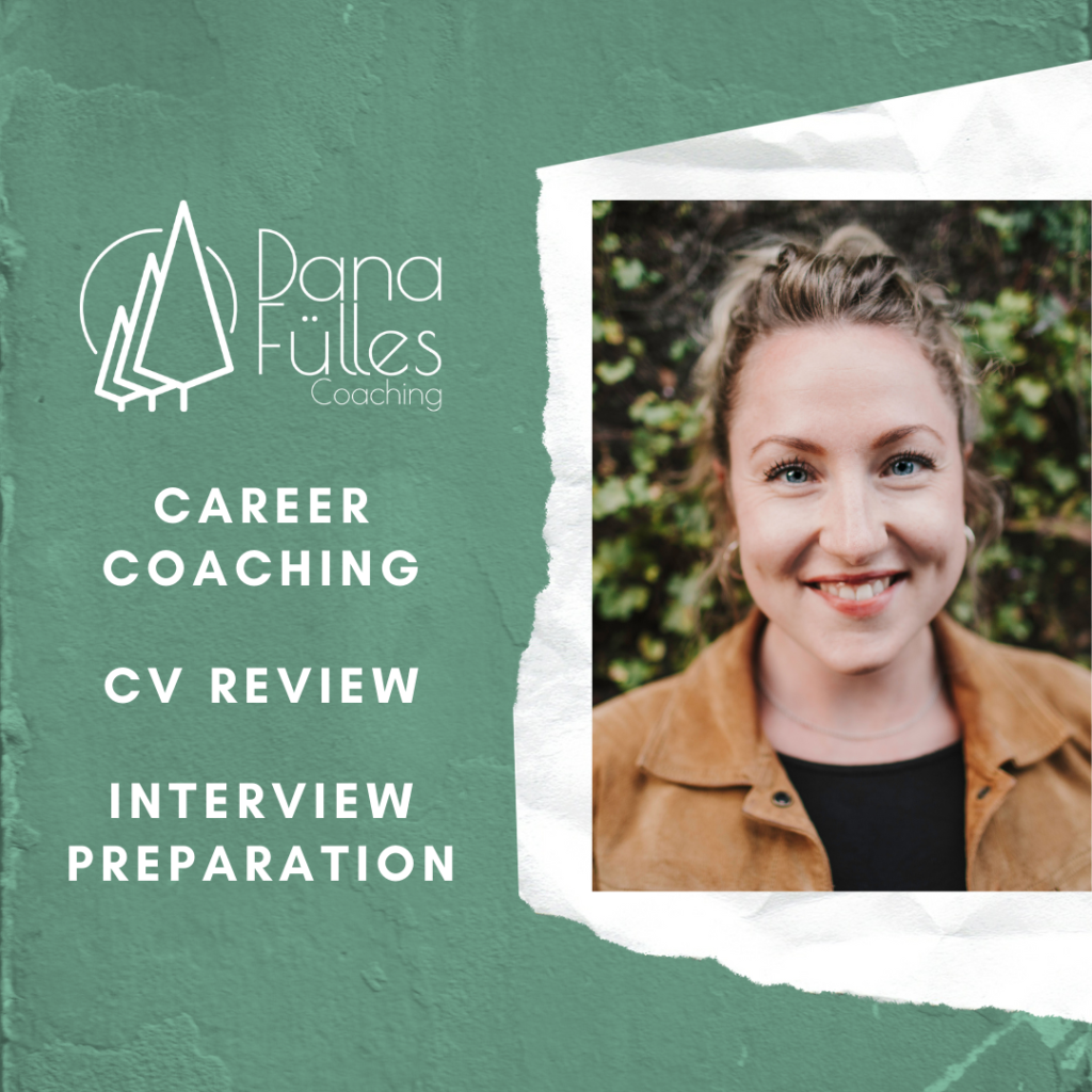 Career Coach, Dana Fülles, will be offering CV evaluations and interview tips on May 13th